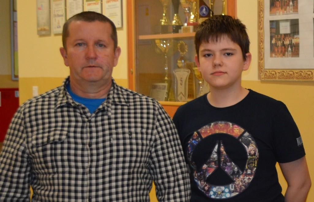 Michał i p. Zbyszek