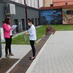 Uczniowie tuż przed egzaminem ósmoklasisty