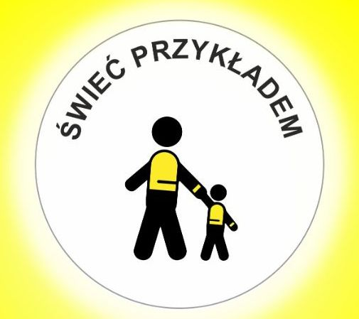 Logo akcji Świeć przykładem