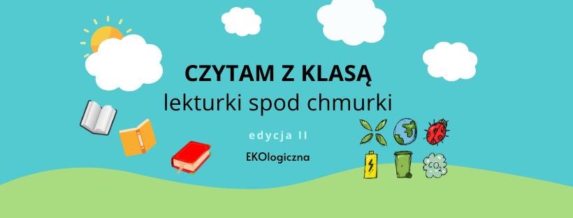 Lekturki spod chmurki - logo