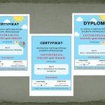 Lekturki spod chmurki - certyfikat